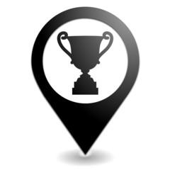 premier prix sur symbole localisation noir