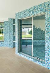 swimming pool, detail, door