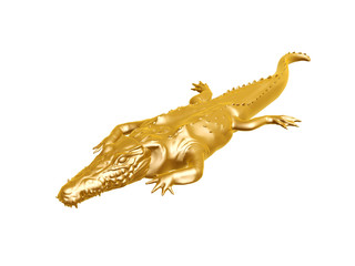 golden crocodile