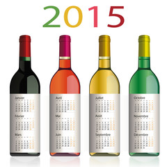 2015_CALENDRIER Vins Bourgogne