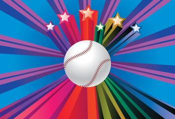 Baseball Ball Background