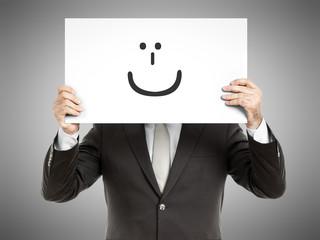 business man smile
