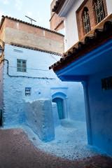 Ruelle  à Chefchaouen -Nord du Maroc