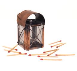 Lantern and match