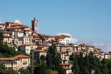 View of Sacro Monte in Varese, Italy
