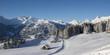 canvas print picture - Winterurlaub in den Bergen