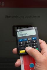 """""""Überweisung"""" Online Banking - TAN Generator"""