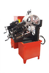 The image of car disk repair machine