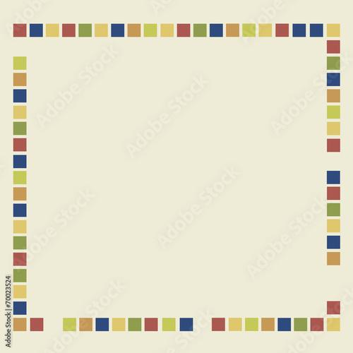 canvas print picture Hintergrund bunte vierecke