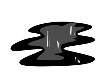 doodle black oil