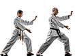 karate men teenager student teacher teaching - 70024538