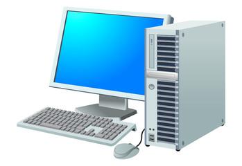 デスクトップパソコン 白
