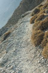 Wanderweg bei Loutro an der Südküste von Kreta