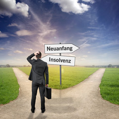 Insolvenz / Neuanfang