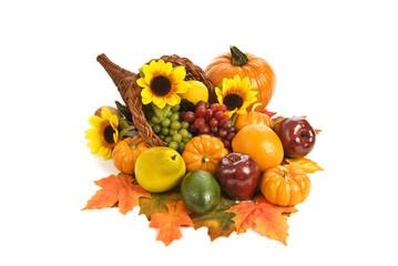 Thanksgiving Bounty Cornucopia