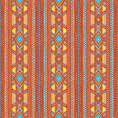 tribal vertical striped pattern - 2