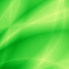 Bright modern image green fresh eco design