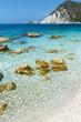 canvas print picture - Petani Beach (Kefalonia, Greece)