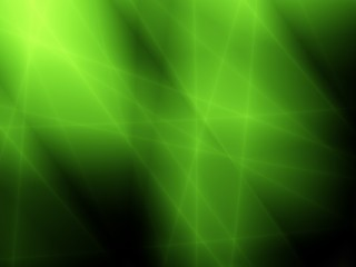 Magic green abstract light modern design