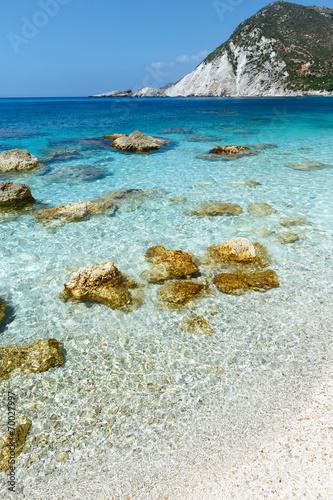 canvas print picture Petani Beach (Kefalonia, Greece)