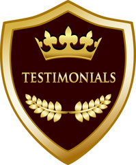 Testimonials Gold Shield