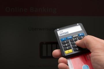 Online Banking - Überweisung Girokarte EC