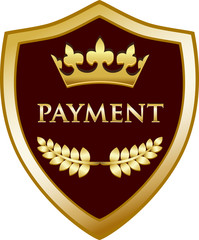 Payment Gold Shield