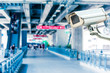 CCTV Camera Operating with escalator