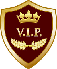VIP Gold Shield