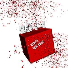 scatola nuovo anno