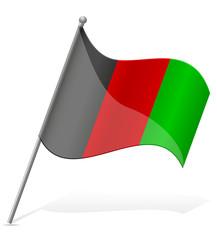 flag of Afghanistan vector illustration