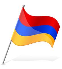 flag of Armenia vector illustration