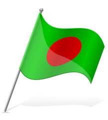 flag of Bangladesh vector illustration