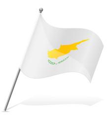 flag of Cyprus vector illustration