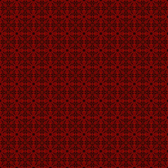 Red on black abstract background
