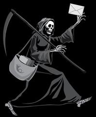 Grim Reaper postman