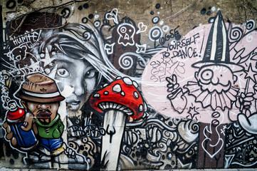 Mur de graffiti