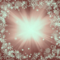 lights on brown background, christmas background