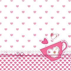 Cup background
