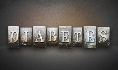 Diabetes Letterpress