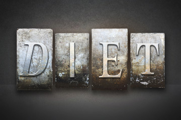 Diet Letterpress
