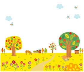 가을배경 3