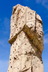 Climbing wall detail