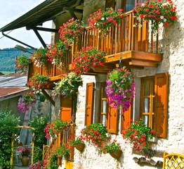 maison fleurie AIN   4