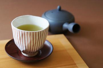 お茶_ライン
