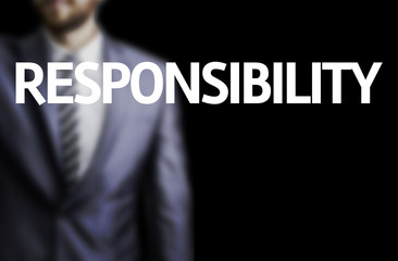 Responsibility written on a board