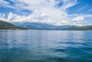 Bordeline Between Croatia and Montenegro