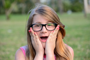girl expressive