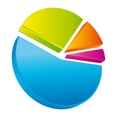 Colorful chart pie II