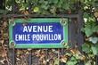 Paris avenue sign